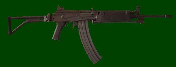 SADF.info R4 - 5.56mm Assault Rifle with 50 round steel border magazine