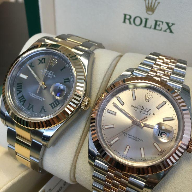 Rolex Datejust 41 Rhodium Diamond Dial