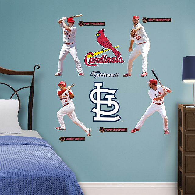 Louis Cardinals From Fathead Make A Bold Statement That Cheap Alternatives Cannot Compare To