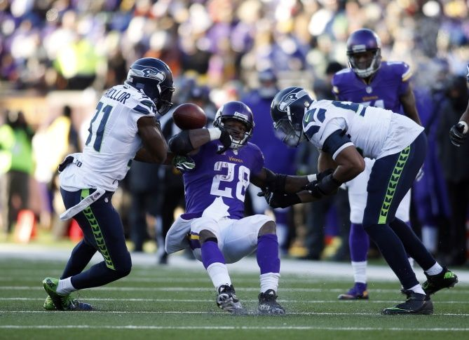 Seahawks-Vikings most-watched early Sunday wild-card game