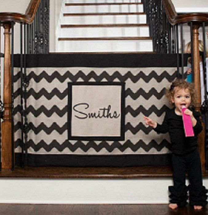 Safety Gate   Baby Gates For Stairs With Banisters,   Dog Gates For Stairs - The Stair Barrier – THE STAIR BARRIER™