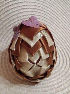 Twórczo Aktywnie Kreatywnie K.Lis: Wielkanocny stroik na obręczy