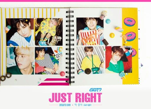 "3rd mini album ""Just Right"""