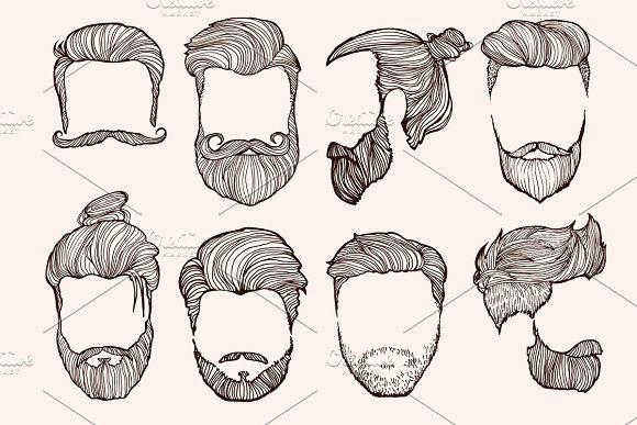 Man S Hairstyle Desenho De Cabelo Masculino Cabelo Desenho
