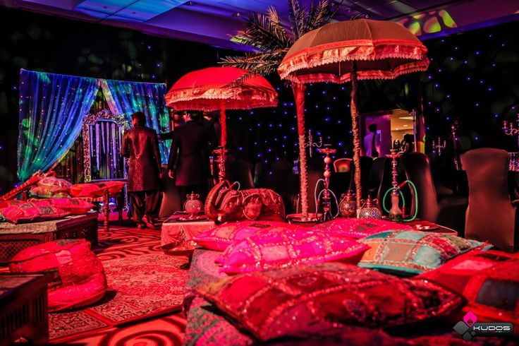 Arabian nights party themes and palm trees on pinterest for Arabian decoration party