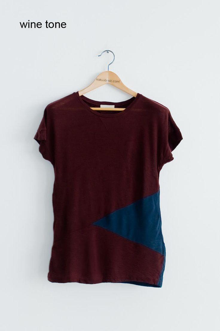 hip patch tee from Kakuu Basic. Saved to Kakuu Basic Blouses & Shirts. Shop more products from Kakuu Basic on Wanelo.