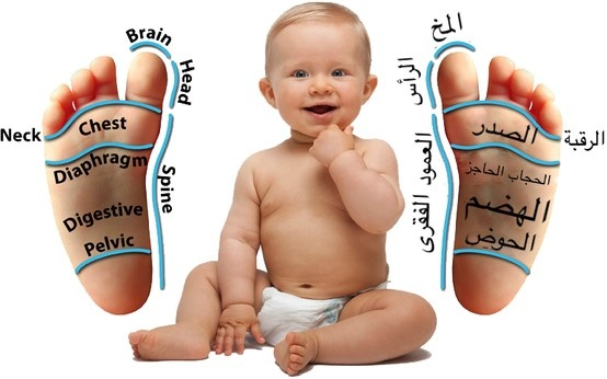 Baby Reflexology Point (Arabic Translation) http://www.balancedsolereflexology.com/twinkle_toes.php