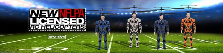 NEW NFLPA Licensed RC Helicopters available at HobbyTron! Which one is your favorite? http://www.hobbytron.com/search.php/RC/RC-Helicopters/NFL/_/N-adfZ1z13qv7  #hobbytron #drones #rc #rchelicopter #helicopters #nfl #nflpa #new #newitems