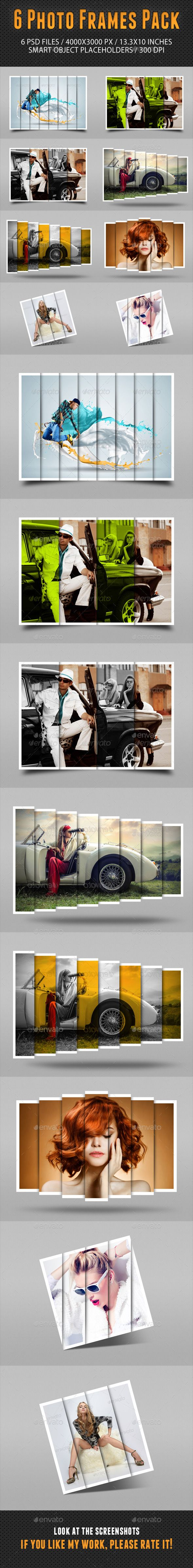 Photo Frames Pack 14 - Photo Templates Graphics