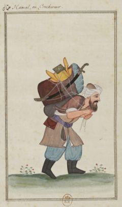 Hamal-Le Sérail et divers personnages turcs