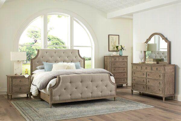 Tuscany Standard Configurable Bedroom Set In 2020 Upholstered Panel Bed Bedroom Set Home Decor