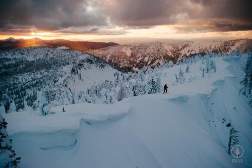 Garrettgrove:A Magical Sunset In The Kootenays BC.