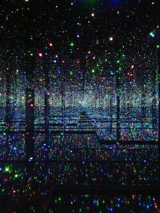 Yayoi Kusama Studio Infinity Mirrored Room – Filled with the Brilliance of Life 2011