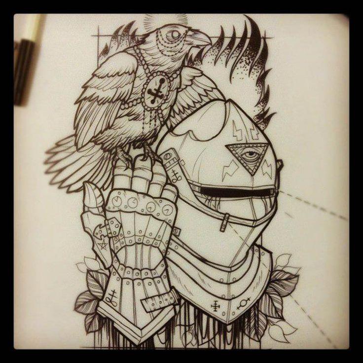 cool tattoo illustration