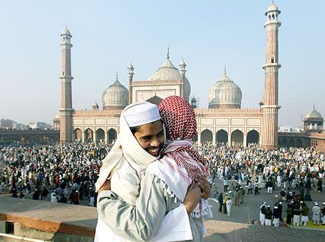 Muslims celebrate Id-ul-Zuha with exhilaration crosswise over India