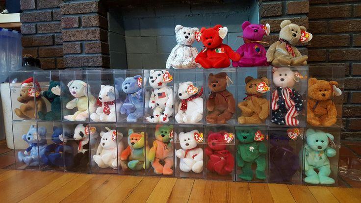 Rare Beanie Baby bear collection lot of 26 mistake bears included