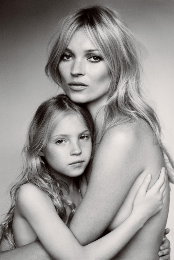 #Kate_Moss and daughter