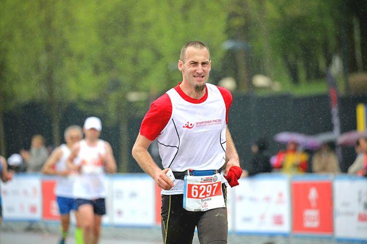 Nawet deszcze nie przeszkodził maratończykom podczas niedzielnej imprezy ORLEN Warsaw Marathon.