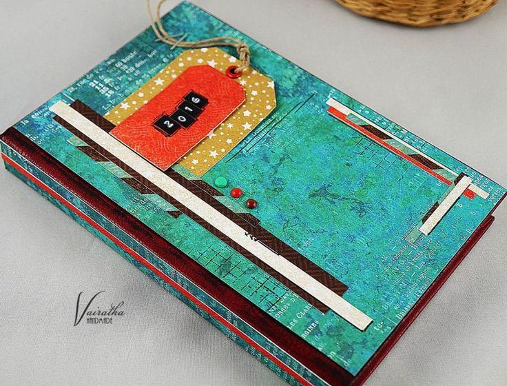 Kalendarz na 2016 r. – Kalendarze - ostatnia sztuka - kolor: kawowy, czerwony, turkusowy, wymiary: 11,5x17cm – Artillo