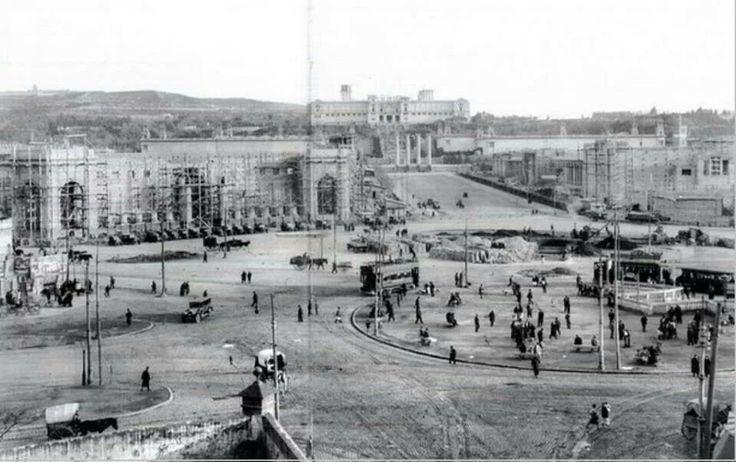 Plaça Espanya.1928