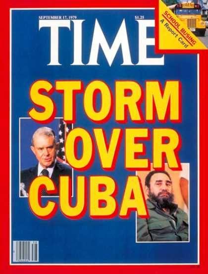Time - Storm over Cuba - Sep. 17, 1979 - Cyrus Vance - Fidel Castro - Cuba - Latin Amer