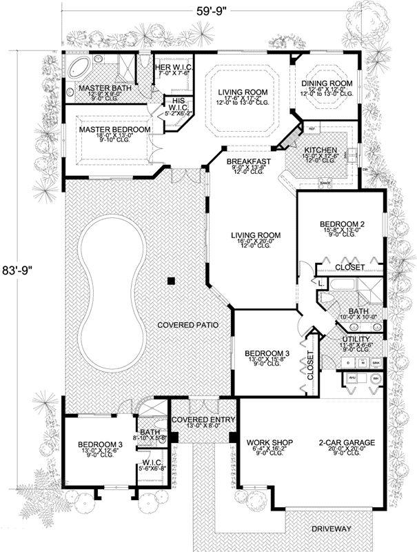 76 best house plans images on pinterest | cottage floor plans, home