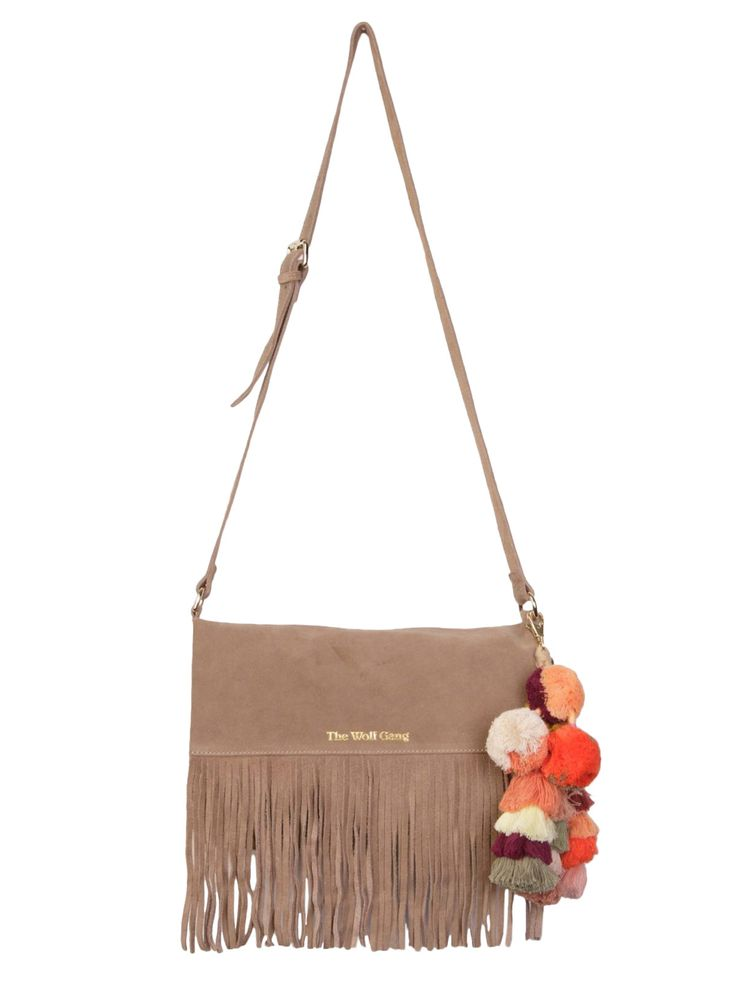 The Wolf Gang - Tan Tan Fringe Bag