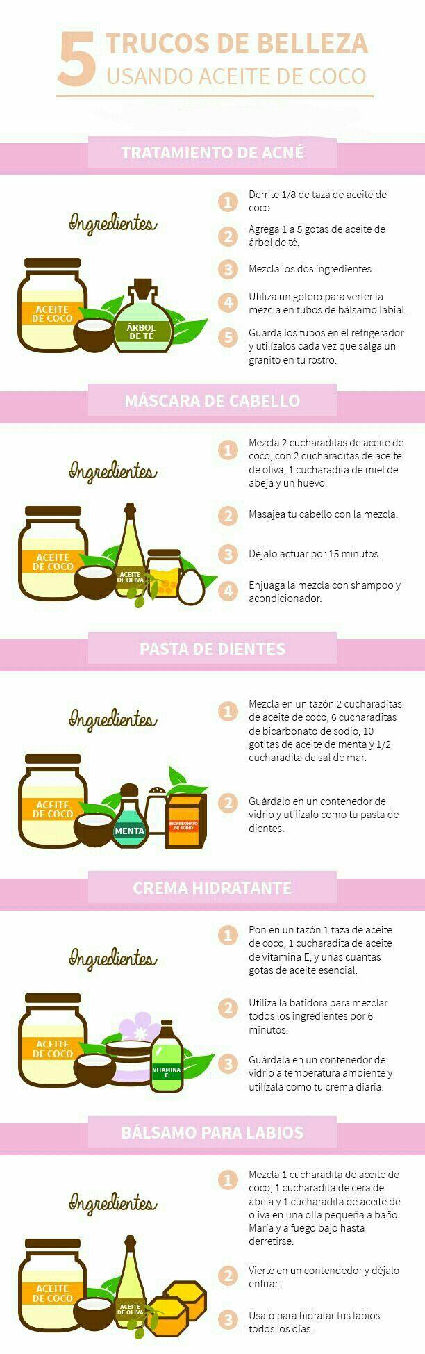 Descubre todo los #beneficios del Aceite de coco. Después de leer esto, no podrás dejarlo fuera de tu rutina de #belleza. #AceiteDeCoco #Propiedades #CuidadoDePiel #RutinaDeBelleza
