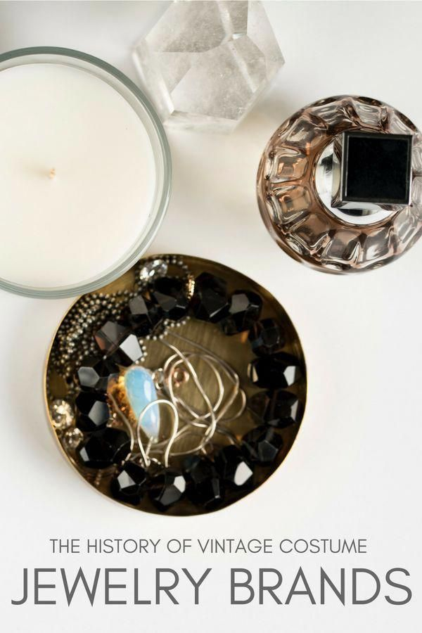 The History Of Vintage Costume Jewelry Brands Vintagejewellery Jewelry Branding Walmart Jewelry Vintage Costume Jewelry