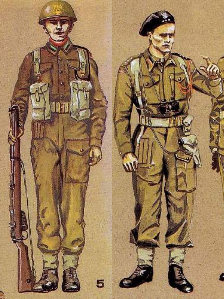 The Polish 1st Armoured Dvision. -French campaign pistols. -1st Corps pistols-officer issue. -1st Arm.Div.2nd Arm.Reg't officer. -1st Arm.Div.8th Rifles Bat. -Holster/Ammo pouch-officer.