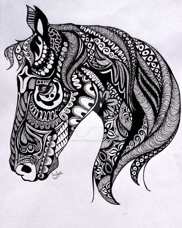 Tangle Horse by ginger--princess @ DeviantArt