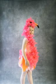 """Pink feathers are a no fail approach to costuming; believe that. Especially when those feathers are attached to an """" I can't believe that is DIY"""" Flamingo outfit. Whip this costume up for your favorite kiddo and prepare to hear the ohhss and ahhhs. And you might even snaga best costume award in the process. […]"""