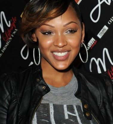 Amazing 1000 Ideas About Megan Good Haircut On Pinterest Best Haircuts Short Hairstyles Gunalazisus