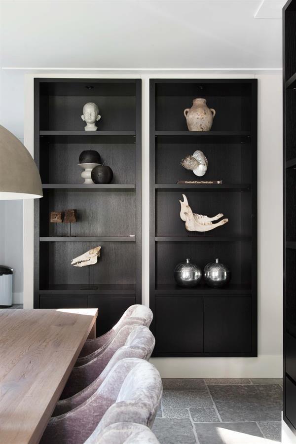 25 beste idee n over boekenkasten op pinterest kratten boekenplank kratten en krat planken - Eigentijdse designkast ...