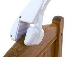 Crib Mobile Attachment Arm - Clamps to Crib for Baby. $22.99, via Etsy.