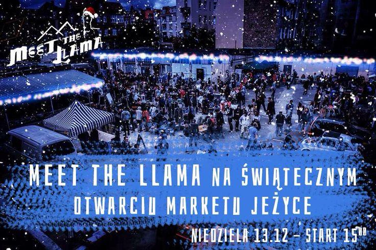 Meet The Llama na Market Jeżyce Świąteczne Otwarcie! Wpadajcie do Poznania 13.12! Piżamki i dresy do zakupienia ;)