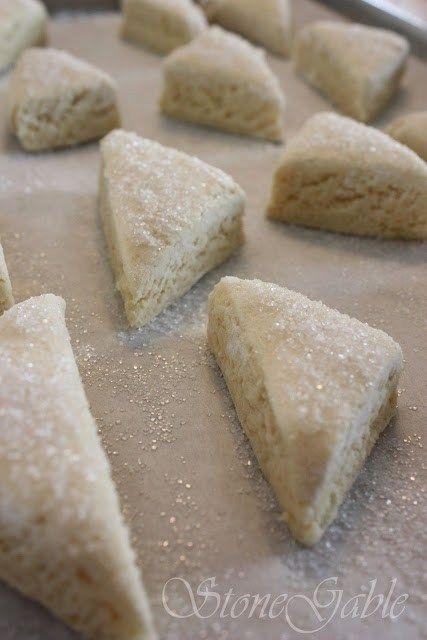 Sour Cream Scones - StoneGable