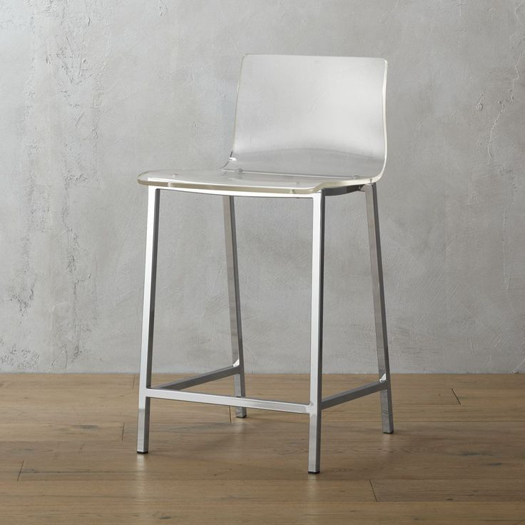 "vapor 24"""" acrylic counter stool"