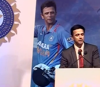 A transcript of Rahul Dravid's speech, made at the function organised by the BCCI to felicitate him in Mumbai on Tuesday.