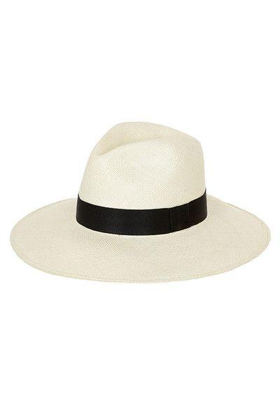Panama Hat - Classic White | My Red Lippy