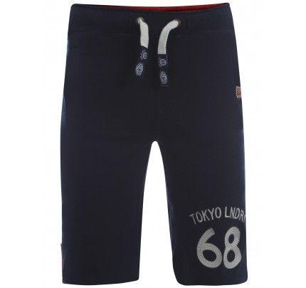 Tokyo Laundry Short de sport Bleu Marine