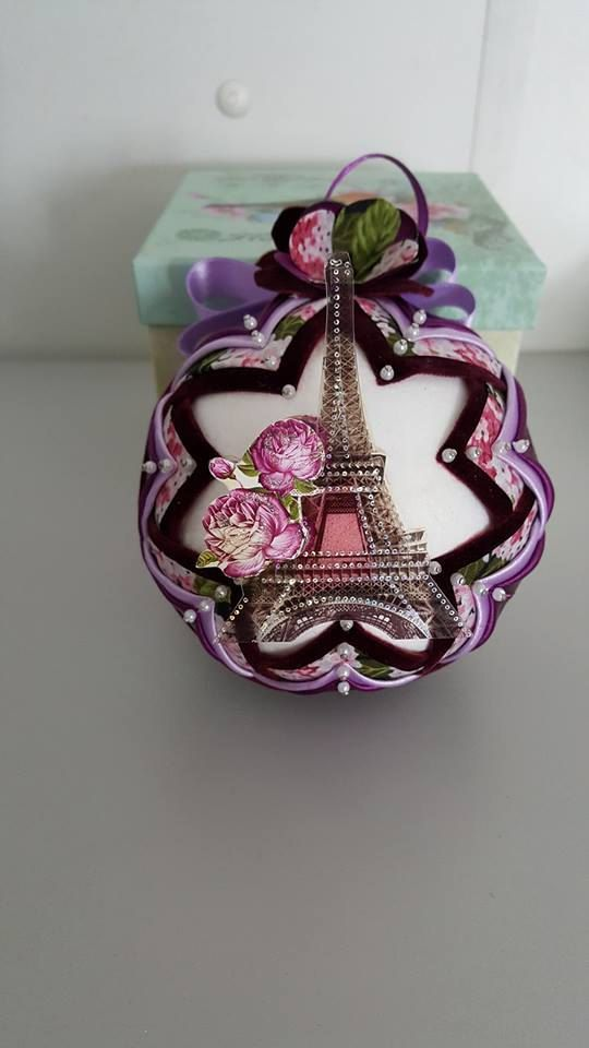 1370 best Quilted Ornament Ideas images on Pinterest   Christmas ... : quilted styrofoam ball ornament - Adamdwight.com