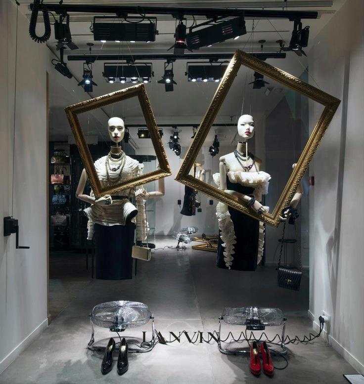 LANVIN - Window Display
