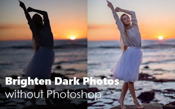 How To Make Dark Photos Brighter Without Photoshop Underexposed Photo Photoshop Pics Photoshop Photography
