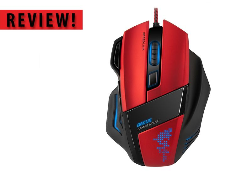 Review: Techsmart - Speedlink Decus gaming mouse: http://ow.ly/SvYBf   #review #syntech #speedlink