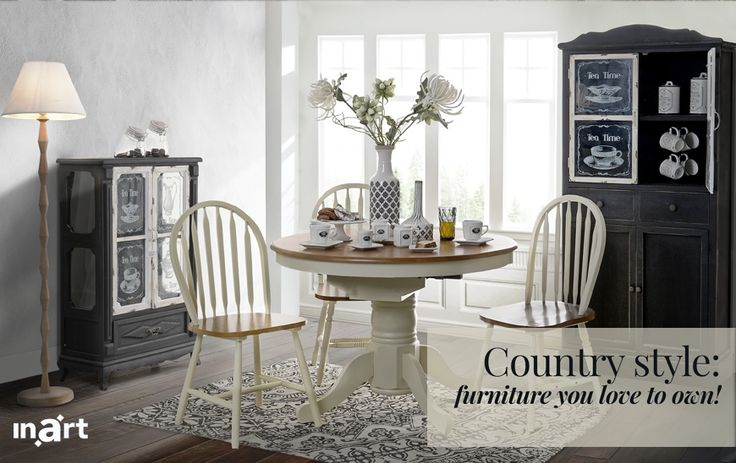 Month's inspiration January 2017   Country style: furniture you love to own!