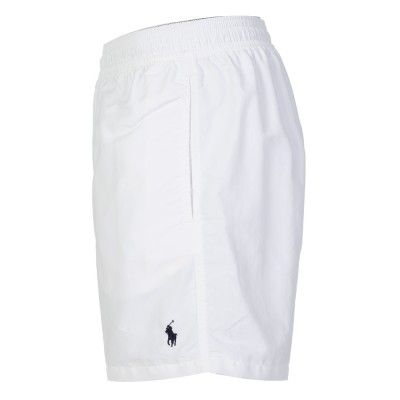 Polo Ralph Lauren White Hawaiian Swim Shorts