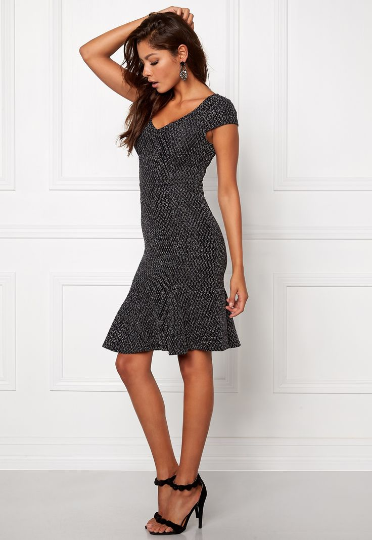 Chiara Forthi Ondria Dress Black/Silver