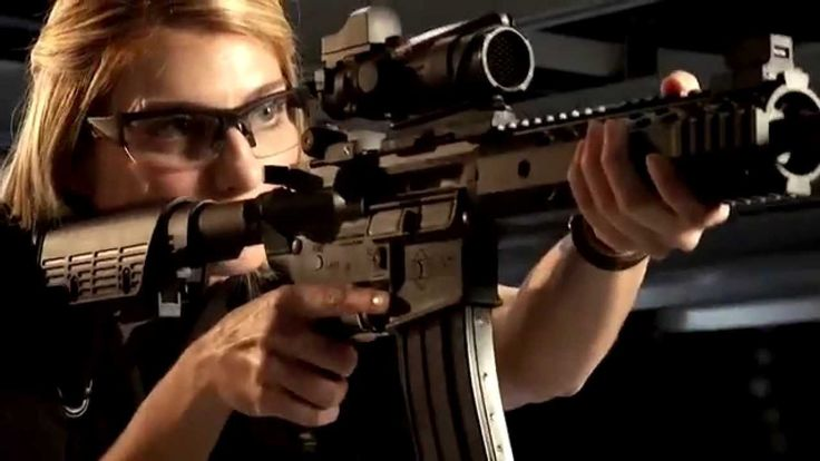 Ladies Deciding Between Iron Sights or Optics - There are solid reasons to use optics over iron sights and vice versa.  Discover why you would use iron sights or optics with this scientific video review.  - http://momsandgunsblog.com/deciding-between-iron-sights-or-optics/