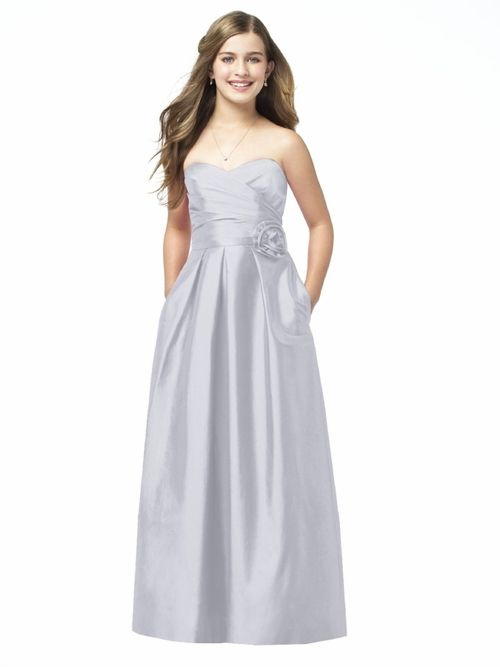 31 best Dessy Girls Junior Bridesmaid Dresses images on Pinterest ...